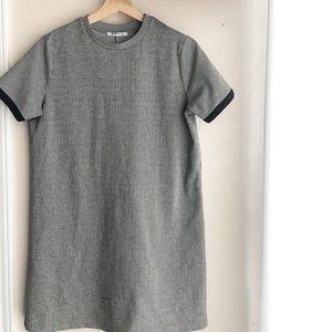 Zara Striped Shirt Dress Size M